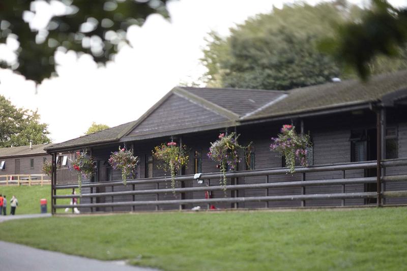 Zakwaterowanie na obozie w Boreatton Park w Anglii