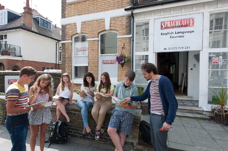 Obóz językowy Sprachcaffe w Brighton, Anglia