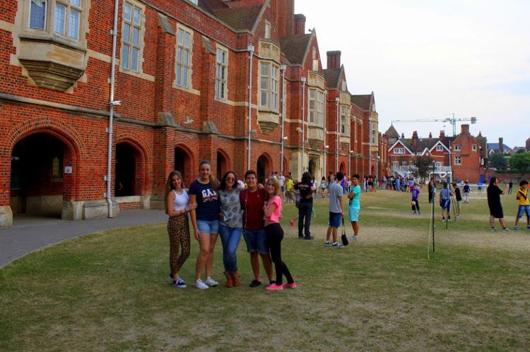 Obóz językowy ELAC w Eastbourne w Anglii