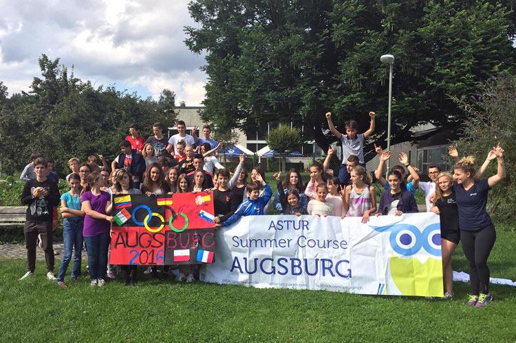 Obóz językowy ASTUR w Augsburgu w Niemczech