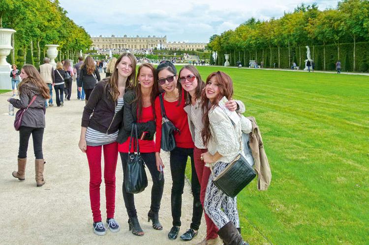 Obóz językowy Sprachcaffe w Paryżu we Francji