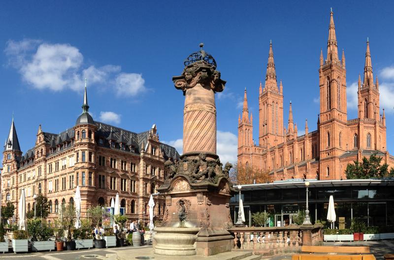 Obóz język niemiecki w Wiesbaden Niemcy