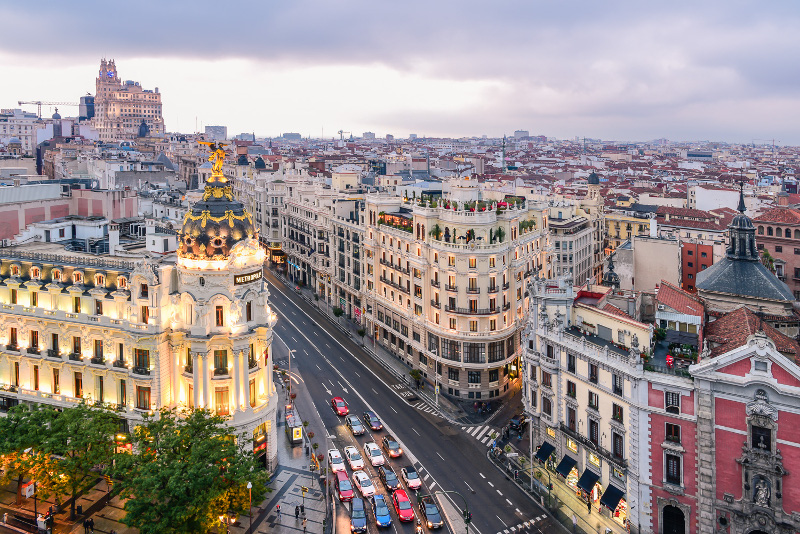 Obozy języka hiszpańskiego w Madrycie