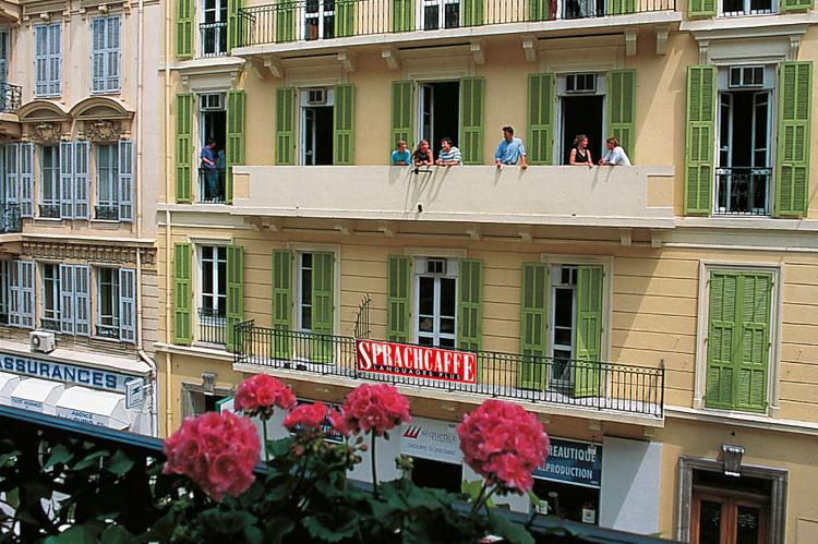 Obóz językowy Sprachcaffe w Nicei we Francji
