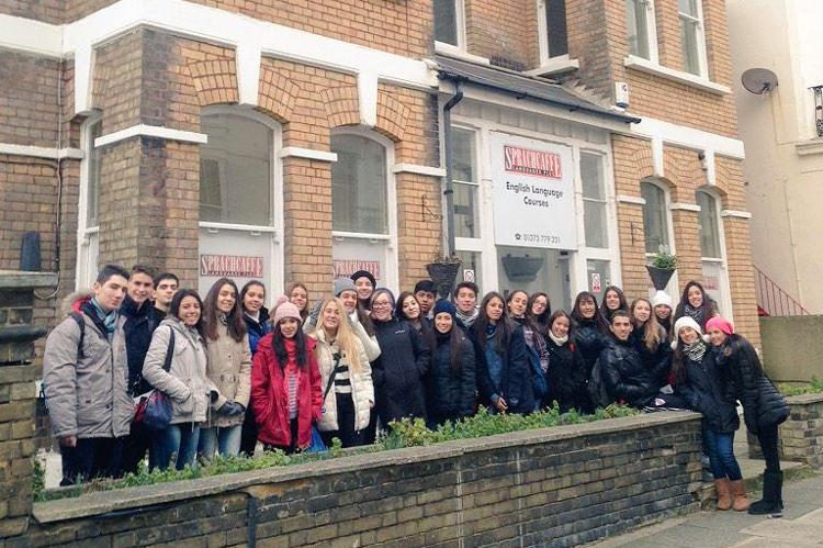 Zimowy obóz językowy Sprachcaffe w Brighton, Anglia