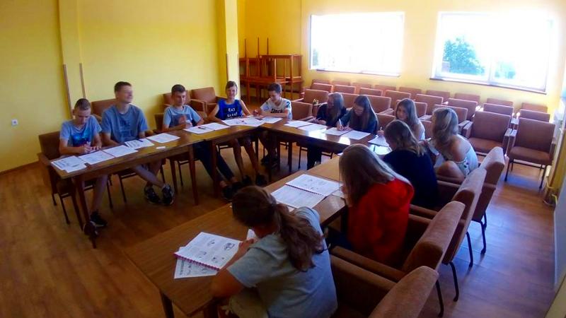 Zajęcia językowe na kolonii / obozie językowym w Jastrzębiej Górze