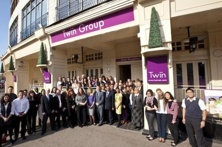 Kursy językowe (angielski) w szkole Twin w Londynie w Anglii