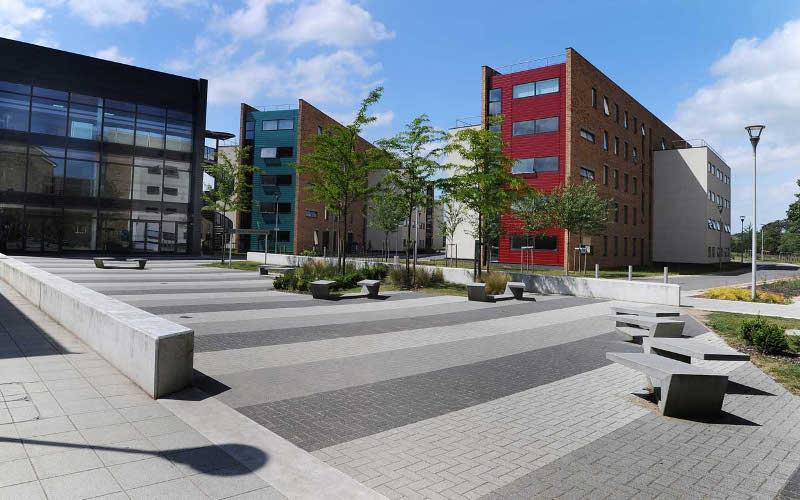 Internat na kampusie Brunel University, Londyn, Anglia