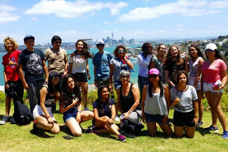Obóz językowy w Nowej Zelandii