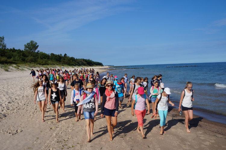 Kolonie językowe (angielski) w Polsce w Sarbinowie nad morzem