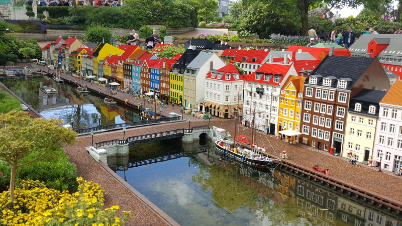Wycieczka do parku rozrywki Legoland w Danii