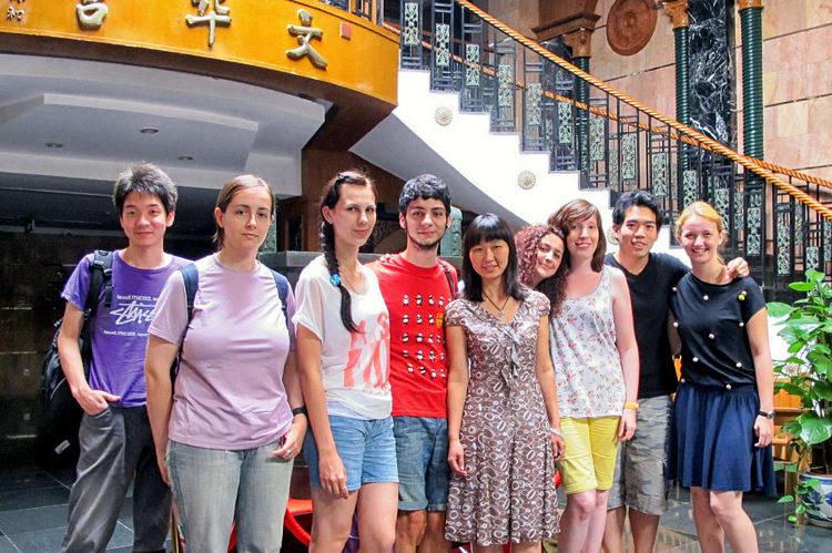 Obóz językowy (język chiński) w Pekinie w Chinach