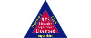 Szkoła posiada licencję New York State Education Department - Bureau of Proprietary School Supervision (BPSS)